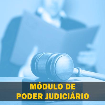 Curso para Módulo de Poder Judiciário