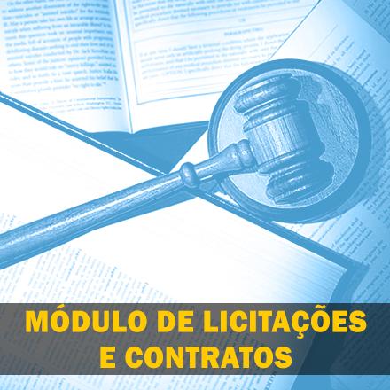 Curso para Módulo de Licitações e Contratos