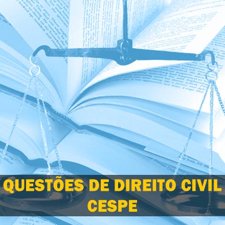 Curso para Questões de Direito Civil CESPE